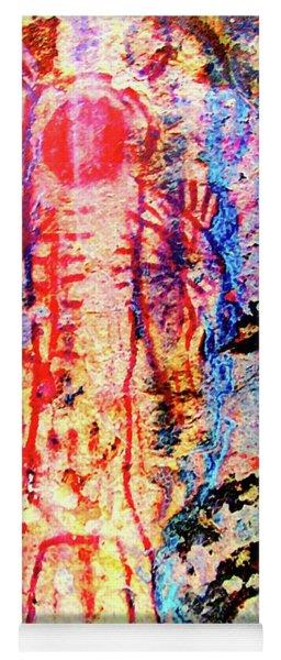 Kawaiisu Rock Art Yoga Mat