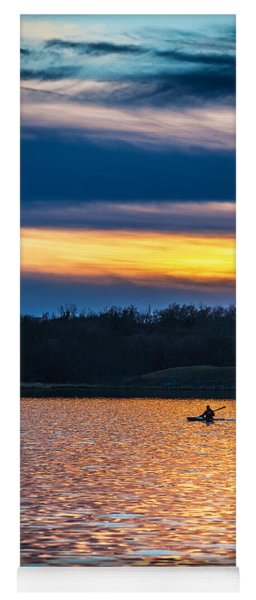 Kayak Sunset Yoga Mat
