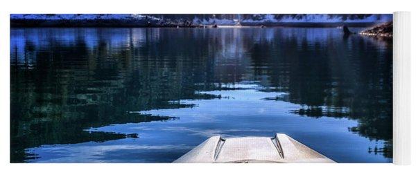 Kayaking In Mccloud Yoga Mat