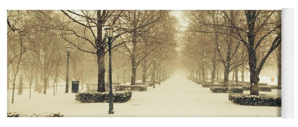 Kc Snow With Parisian Flare Yoga Mat