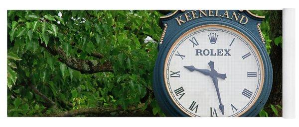 Keeneland Clock Yoga Mat