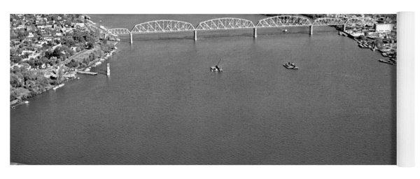 Kennedy Bridge Construction Yoga Mat