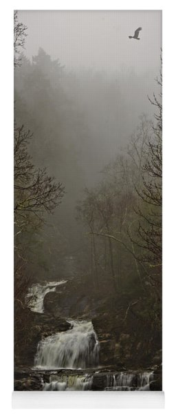 Kent Falls Under Spring Morning Mist Yoga Mat