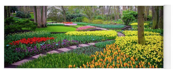 Keukehof Botanic Garden 2015 Yoga Mat