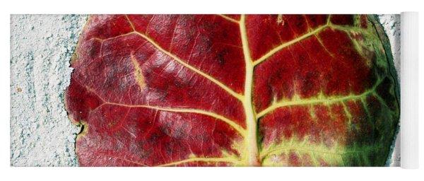 Key West Leaf In The Sand Yoga Mat