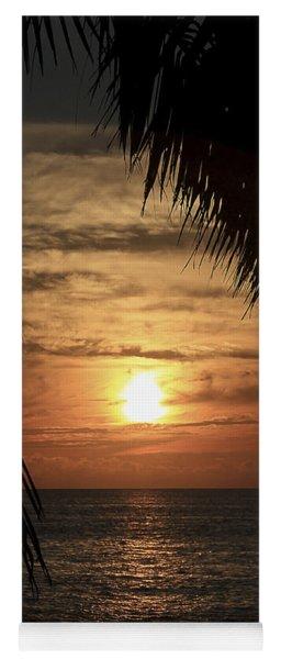 Key West Palm Sunset 2 Yoga Mat