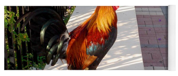Key West Rooster Yoga Mat