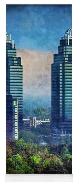 King And Queen Buildings Yoga Mat