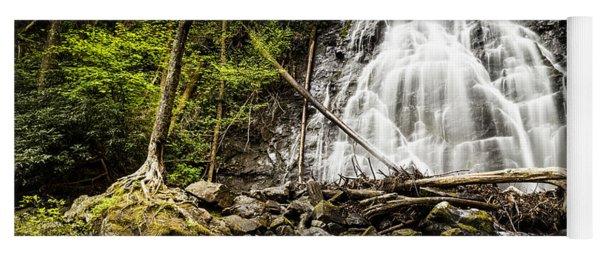 Crabtree Falls - Blue Ridge Parkway North Carolina Yoga Mat