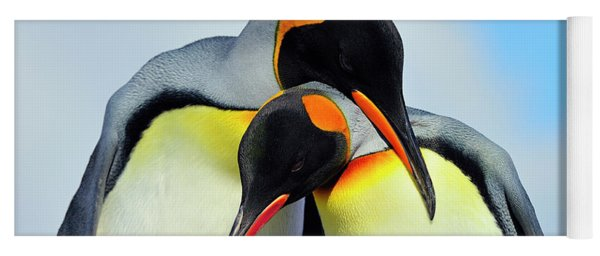 King Penguin Yoga Mat