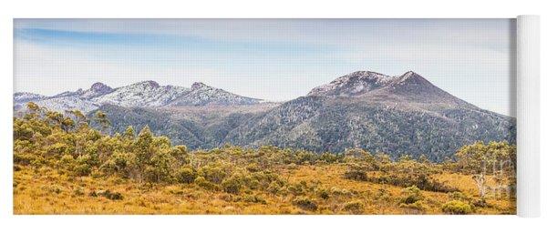 King William Range. Australia Mountain Panorama Yoga Mat