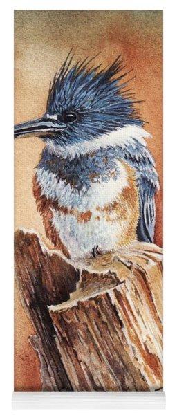 Kingfisher I Yoga Mat