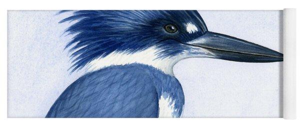 Kingfisher Portrait Yoga Mat