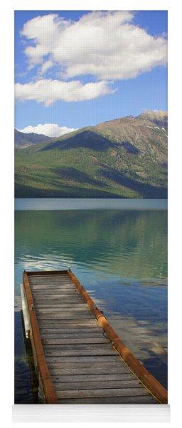 Kintla Lake Dock Yoga Mat