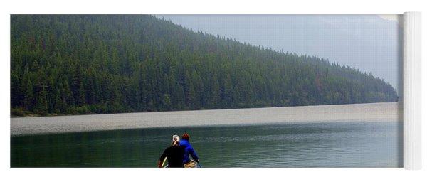 Kintla Lake Paddlers Yoga Mat