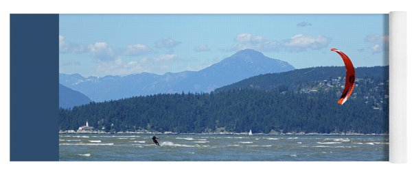 Kite Surfer Yoga Mat