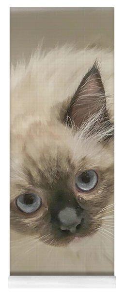 Kitty Blue Eyes Yoga Mat