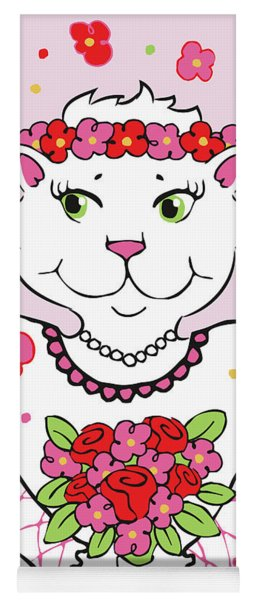 Kitty Bride Yoga Mat