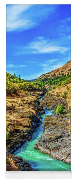 Klickitat River Canyon Yoga Mat