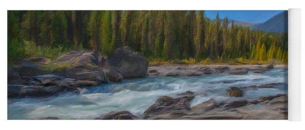 Kootenay River Yoga Mat