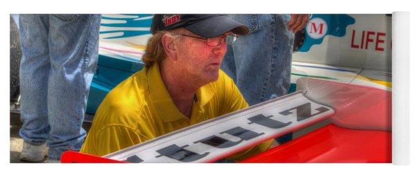 Kraig Johnson Driver Mechanic Raconteur Yoga Mat