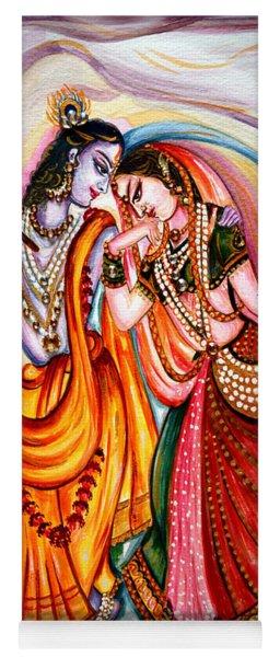 Krishna And Radha Yoga Mat