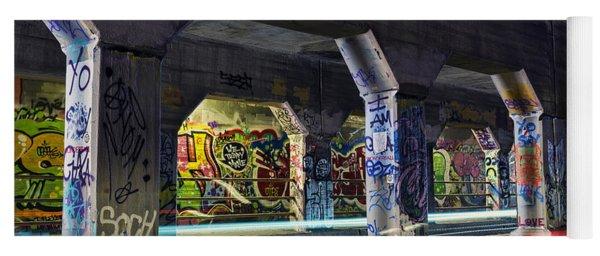 Krog Street Tunnel Yoga Mat
