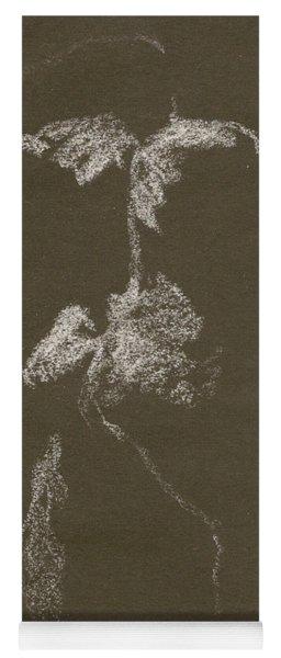 Kroki 1997, Pre.3 Vit Krita, Figure Drawing White Chalk Yoga Mat