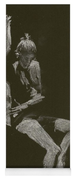 Kroki 2014 10 04_12 Figure Drawing White Chalk Yoga Mat