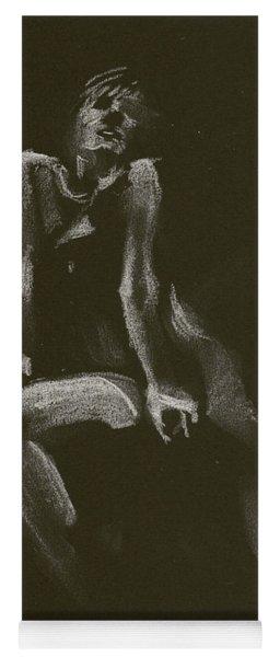 Kroki 2014 10 18_3 Figure Drawing White Chalk Yoga Mat