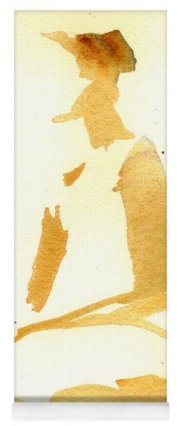Kroki 2015 03 28_29 Maalarhelg 3 Akvarell Watercolor Figure Drawing Yoga Mat