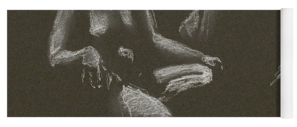 Kroki 2015 04 25 _3 Figure Drawing White Chalk Yoga Mat