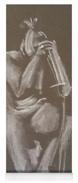 Kroki 2015 06 18_4 Figure Drawing Chinese Sword White Chalk Yoga Mat