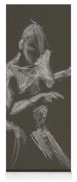Kroki 2015 10 03_12 Figure Drawing White Chalk Yoga Mat