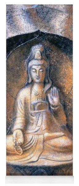 Kuan Yin Meditating Yoga Mat