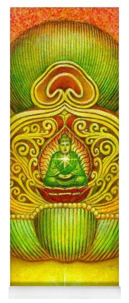 Kuan Yin's Buddha Crown Yoga Mat