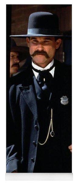 Kurt Russell As Wyatt Earp Tombstone Arizona 1993-2015 Yoga Mat