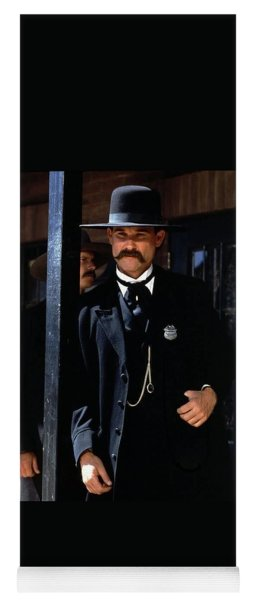 Kurt Russell As Wyatt Earp Tombstone Arizona 1993-2015 Yoga Mat