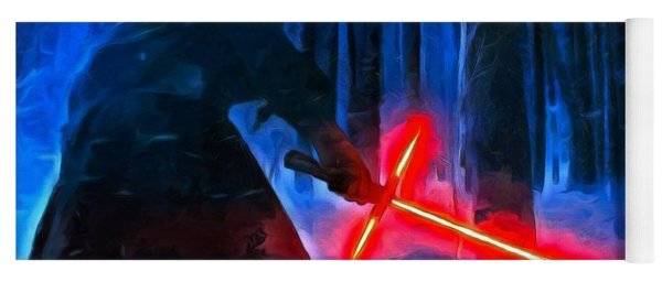 Kylo Ren In The Forest Yoga Mat