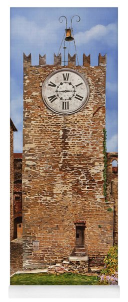 La Torre Del Carmine-montecatini Terme-tuscany Yoga Mat