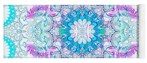 Lacy Mandala Yoga Mat