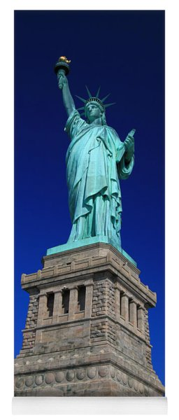 Lady Liberty Ellis Island Nyc Yoga Mat