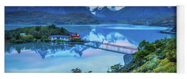 Lago Pehoe - March Yoga Mat