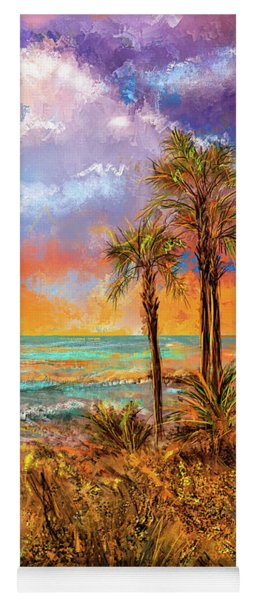 Laguna Beach At Sunset Yoga Mat