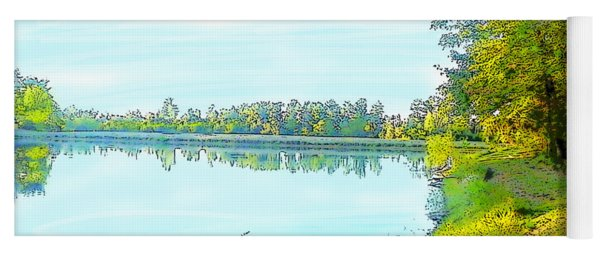 Lake And Woods Yoga Mat