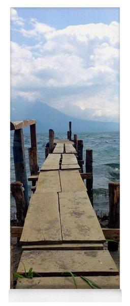 Lake Atitlan Dock Yoga Mat