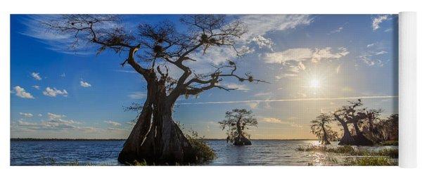 Lake Disston Cypress Paradise Yoga Mat
