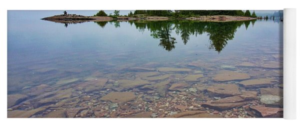 Lake Huron Island Yoga Mat