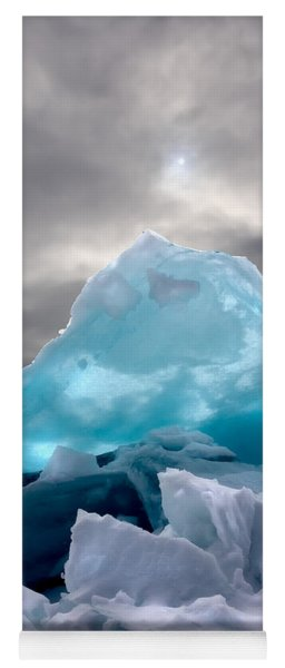 Lake Ice Berg Yoga Mat