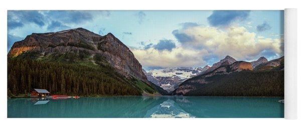 Lake Louise Banff Alberta Yoga Mat